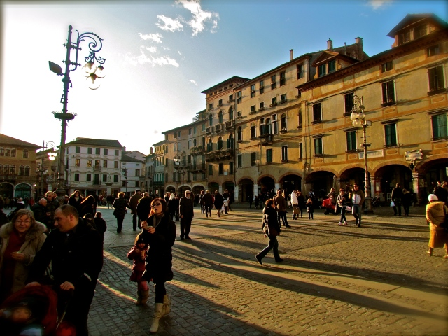 The main piazza ~  Such a gorgeous day!