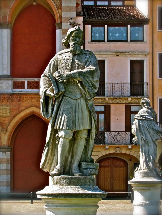 1 of 78 statues along the Prato della Valle