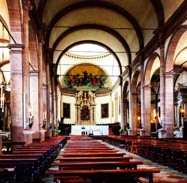 Religious or not, the churches in Italy are just stunningly beautiful.